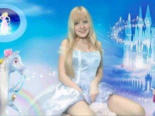 Webcam Belle - shycinderella blonde cam babe loves roleplay with her partner