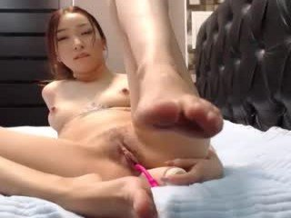 Webcam Belle - tian_jing adorable webcam girl sucks cock and fucks even anal