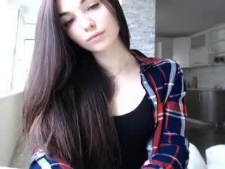 Webcam Belle - superhotgirl2 slim cam chick with small tits loves to flash during her live sex session