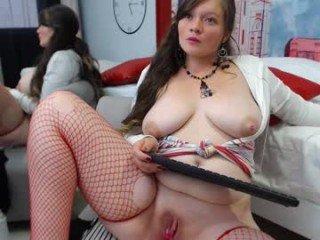 Webcam Belle - sabrinagirll pregnant cam milf enjoys her body on camera