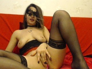 Webcam Belle - gabyhot white cam babe with big tits goes doggie style online