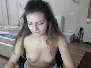 Webcam Belle - mila07 slim cam chick with small tits loves to flash during her live sex session