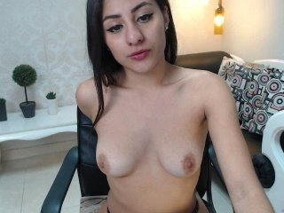 Webcam Belle - niaconnor cam girl gets her shaved pussy filled with hot cum