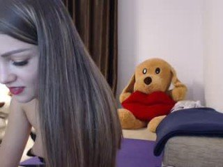 Webcam Belle - chloe_kitty cam girl with big tits gets her tight pussy stretched out hard