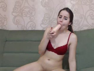 Webcam Belle - _waiting_for_you_ russian cam babe with tiny tits loves rubs her bald pussy online