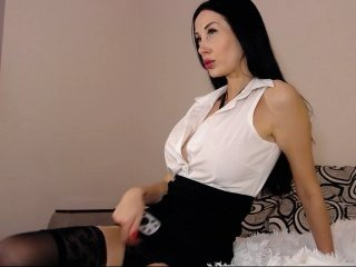 Webcam Belle - -janice- cumshow with bitchy cam girl in chatroom