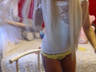 Webcam Belle - blondalina pornstar cam babe shy of their small boobs online