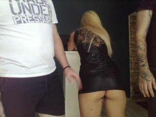 Webcam Belle - tattoo-couple elegant cam girl in a revealing bra online