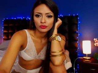 Webcam Belle - caroorttiz spanish cam babe accepts hot cum inside her pussy