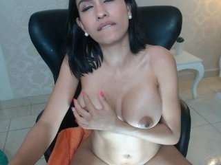 Webcam Belle - christymoorex big tits cam babe have to shave pussy