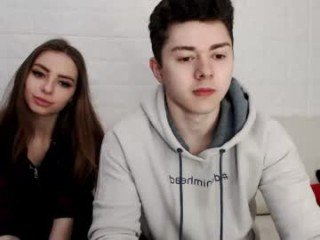 Webcam Belle - yourfiredreams teen couple with sensual moans filling the chatroom